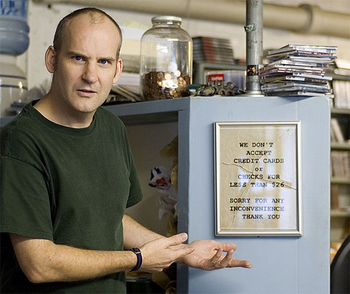 Money-grabbing Ian MacKaye